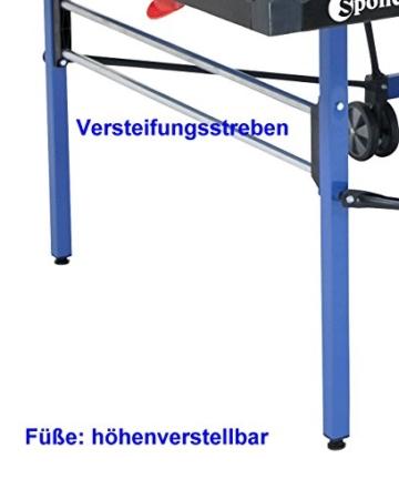 outdoor tischtennisplatte blau sponeta